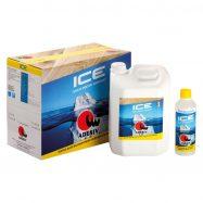 Adesiv Ice polumat PU vodeni lak, 5,5 l